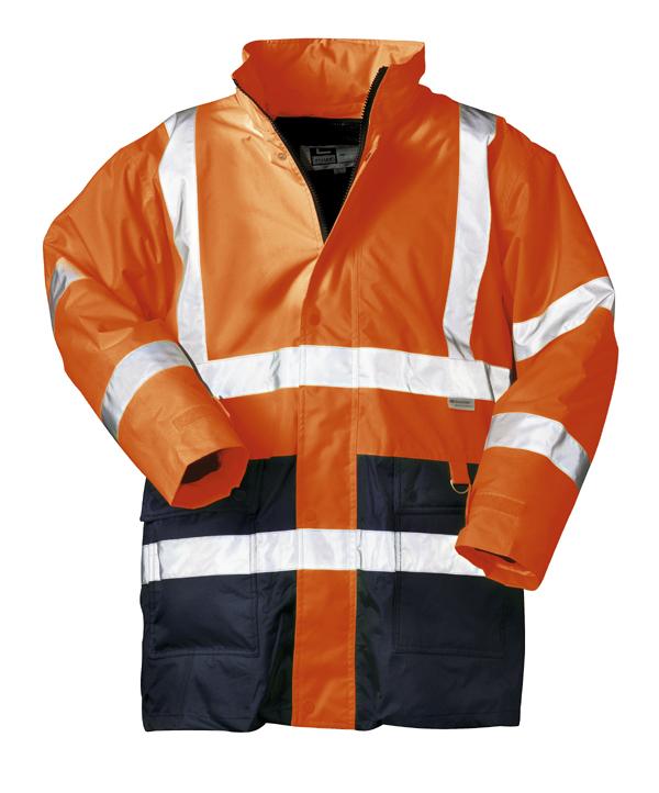 Warnschutz-Jacken