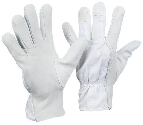 Nappaleder-Handschuh mit Köperrücken / CE CAT 2