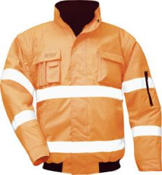 orange Warnschutz-Pilotenjacke TOM, von SAFESTYLE®