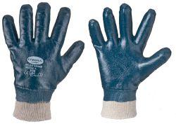 Nitril-Handschuhe MARINER blau,vollbeschichtet, öl- und fettabweisend
