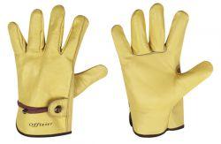 Rindvollleder-Handschuhe OFFIZIER