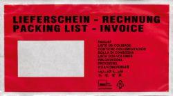 """Versandtasche """"Lieferschein/Rechnung"""""""