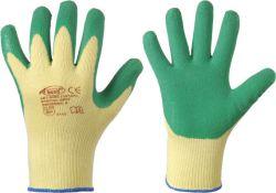 Latex beschichtete Handschuhe SPECIALGRIP, Mittelstrick, Profi-Qualität