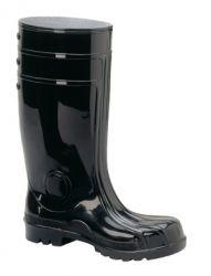 S5 Stiefel BAUMEISTER, Schaft schwarz, Sohle schwarz, PVC/Nitril