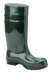 S5 Stiefel LANDWIRT, Schaft grün, Sohle schwarz, PVC/Nitril