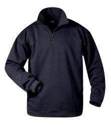 Sweat-Shirt mit Troyer-Kragen GERD, Nur 4x Gr.XL lieferbar