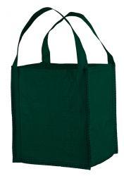 Mini Big Bag 40x40x45 cm, 2 Hebeschlaufen, geschlossener Boden grün
