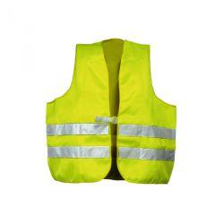 Warnschutzwesten nach EN 20471 Mischgewebe neongelb