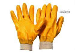 Nitril gelb – vollbeschichtet