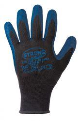BLUE LATEX Handschuhe Kälteschutz Stronghand