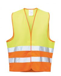 WILHELM Warnweste Gelb-Orange Wica Special