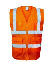 EWALD Warnschutzweste Orange Safestyle