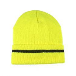 Thinsulate Mütze / Neongelb / Universalgröße