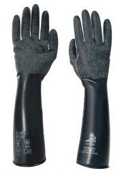 Butoject 897 / Handschuhe Butylkautschuk schwarz / 1 Paar