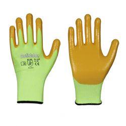 Schnittschutz Handschuh / Nitril / nicht atmungsaktiv / glatt
