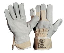 Mammut 2 / Größe 10 / Handschuh mit Doppelnaht / natur / CE CAT 2
