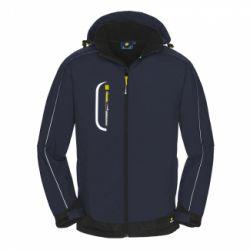 Softshell-Jacke MONTANA / PROTECT Workwear / blau-schwarz