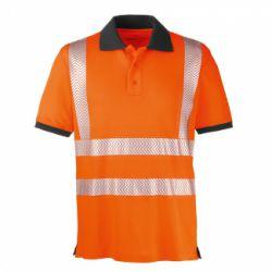 Warnschutz-Polo-Shirt ORLANDO / PROTECT Workwear / leuchtorange