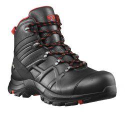 HAIX BLACK EAGLE® Safety 54 • MID BLACK/RED • Robuster S3-Sicherheitsschuh