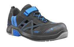 HAIX CONNEXIS® Safety Air S1 / LOW GREY/BLUE / Sportlich-leichte S1-Sandale