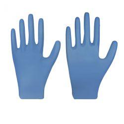 Nitril-Einmalschutzhandschuh / ECO PLUS / blau / puderfrei / Box à 200 Stück