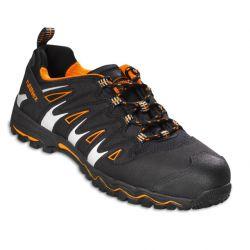 LightStar 5130 / ruNNex / Sicherheitsschnürstiefel / schwarz-orange