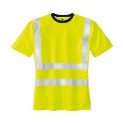 Warnschutz T-Shirt HOOGE / texxor / leuchtgelb