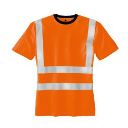 Warnschutz T-Shirt HOOGE / texxor / leuchtorange
