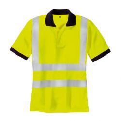 Warnschutz Polo Shirt SYLT / texxor / leuchtgelb