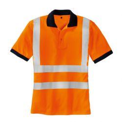 Warnschutz Polo Shirt SYLT / texxor / leuchtorange