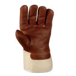 Mobelleder-Handschuhe / BRAUNE FARBEN / texxor / braun