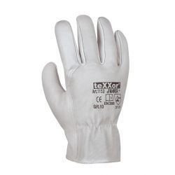 TOP Rindnappaleder-Handschuh / FAHRER / texxor / natur