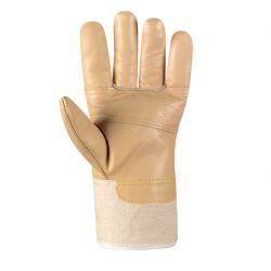 Möbelleder-Handschuh HELLES LEDER / texxor / Leder-weiß