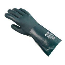 Chemikalienschutz-Handschuh PVC / texxor / 27cm Länge / grün