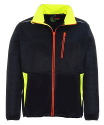 BLACKLINE Fleecejacke / geprägt / Professionial Workwear / LeikaTex / 490110