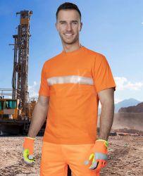 Shirt Xaver Orange / Warnschutz