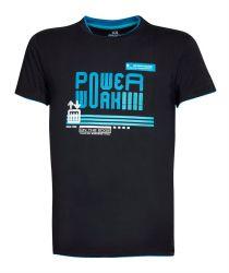 T-Shirt POWERWORK Schwarz