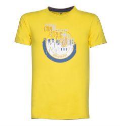 T-Shirt CONSTRUCTED Gelb