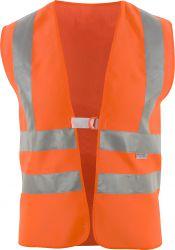 Warnweste mit Schulterreflex nach EN ISO 20471 - leuchtorange