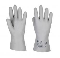 Handschuhe Tricopren Iso 788, vollbeschichtet, 30cm - grau
