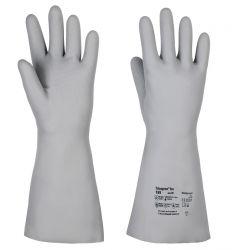 Handschuhe Tricopren Iso 789, vollbeschichtet, 40cm - grau