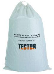 KMF Sack / 140 x 220cm / Unbeschichtet / Mineralfaserabfälle