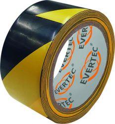 Bodenmarkierungs- & Warnband 50mm x 25M / Gelb-Schwarz