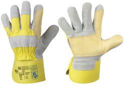 Rindspaltleder-Handschuhe JAIPUR, TÜV/GS geprüfte Premiumqualität, STRONGHAND®